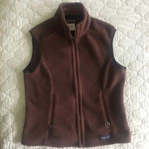 Patagonia women's fleece vest